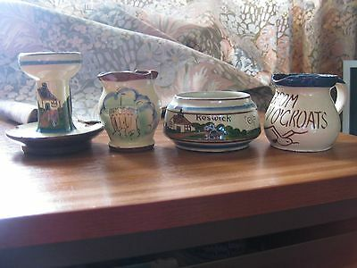Torquay Pottery - 4 Pieces All Chipped