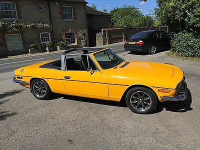 Triumph Stag - great bodywork and chrome, Over £15,000 in bills!