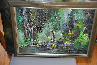 "Margaret ""Gare"" Barks Painting Wife of Carl Barks from Estate Original Comic Art"