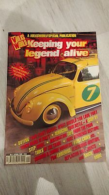 Volksworld - Keeping the Legend Alive No.4 - Spring 1998 - Very good condition