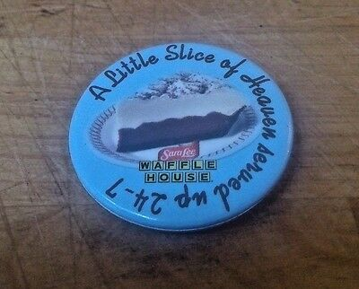 Waffle House A Liitle Slice Of Heaven Served Up 24-7 Sara Pie Lee Pin