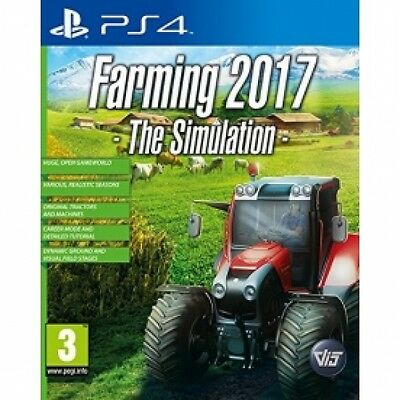 Professional Farmer 2017 PS4 Game Brand New