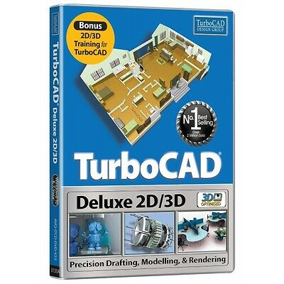 TurboCAD Deluxe 2016 Brand New
