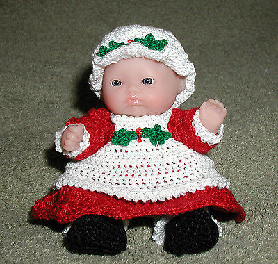 """Mrs Claus Itty Bitty Baby - 5"""" Lots to Love Babies"""