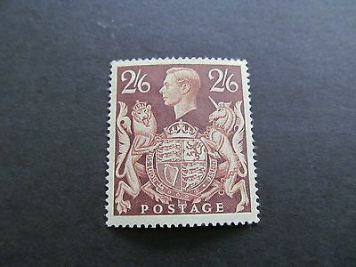1939/48  Arms Sg476   2/6  Brown Very Fine Unmounted Mint