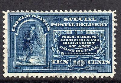 U.S.A. 10 Cent Special Delivery Stamp c1888 Used