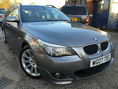 2007 Bmw 520D M Touring Auto, Leather, Superwide Sat Nav,climate,alloys Crusie