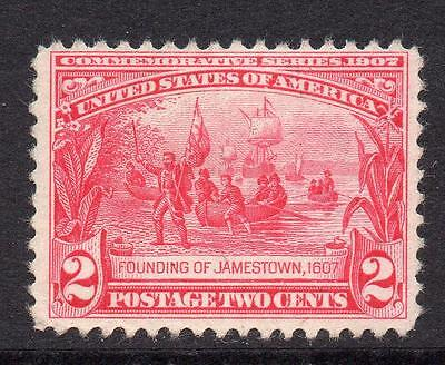 U.S.A. 2 Cent Stamp c1907 Mounted Mint