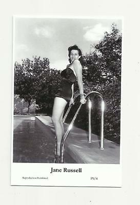 (N91) Glamour Jane Russell Swiftsure (P9/4) Photo Postcard Film Star Pin Up