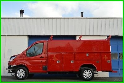 2015 Ford Other Transit T-250 Reading Service Body Utility Body Repairable Rebuildable Salvage Lot Drives Great Project Builder Fixer Easy Fix