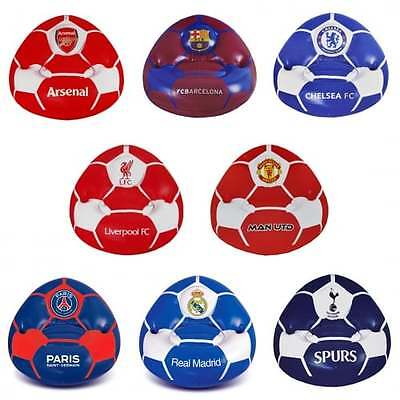 Official Football Team Inflatable Chair - All Clubs - Soccer Kids - NEW GIFTS