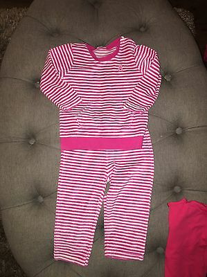 Baby Girls Benetton Tracksuit 9-12 Months