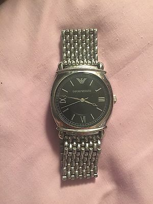 Great Cond Genuine Emporio Armani Men's Watch Wristwatch