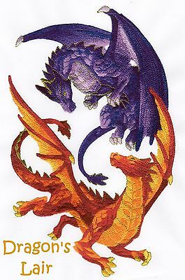 Dragon's  Lair Collection - Machine Embroidery Designs On Cd