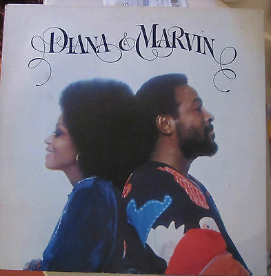 "Diana & Marvin - 12""  GATEFOLD Vinyl LP Record   Ex. Condition  STMA 8015"