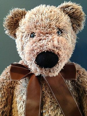 "FAO SchwarzTeddy Bear Plush Stuffed Teddy Bear 28"" LARGE MUST SEE"