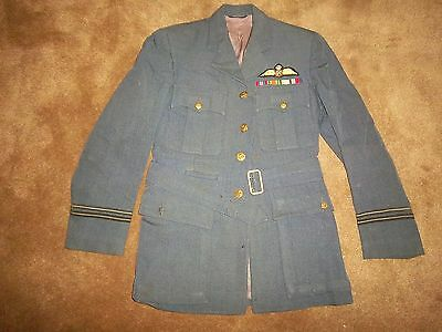 Ww2 Era Royal Air Force 2 Piece Dress Uniform See Attached History