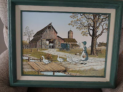 Vintage Oil Painting by C Carson