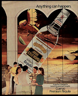 1984 Anything Can Happen Jose Cuervo Tequilla Ad