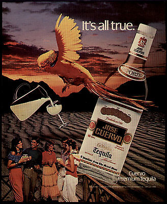 1983 It's All True Jose Cuervo Tequilla Ad