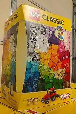 LEGO 10697 CLASSIC LARGE CREATIVE BOX 1500 Pieces NEW SEALED