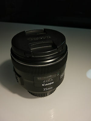 Objectif Canon EF 35mm f/2 IS USM - COMME NEUF
