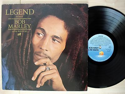 Bob Marley & The Wailers Legend Best Of ♫LISTEN♫ UK LP Island BMW1 1984 EX/EX+