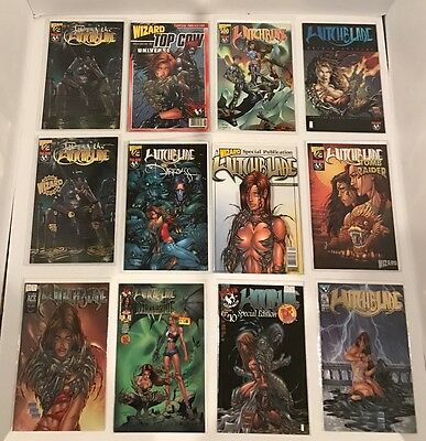 Lot Of 230 Witchblade #1-146 Full Run + 35 One Shots + 11 Minis + 14 Exclusives