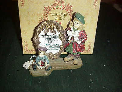 Nib Boyds Yesterdays Child - Anne W/madeline- The Masterpiece With Certificate