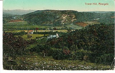 """PPC Of """"  Tower Hill , Abergele """"  posted 1922"""