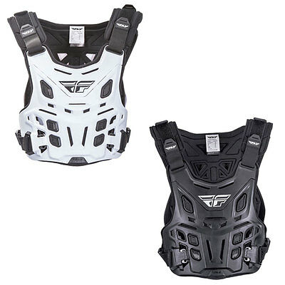 Fly Racing Revel Race Chest Protector MX Motocross Offroad Roost Guards