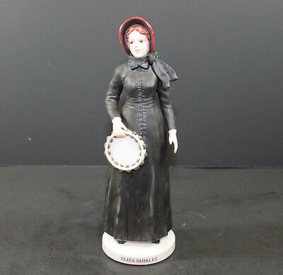 Limited Edition The Salvation Army Eliza Shirley Preaching Lady #797 Figurine