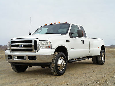 2006 Ford F-350 XLT 2006 Ford XLT F350 Super Cab Long Bed FX4 4WD Dually Truck Powerstroke Diesel