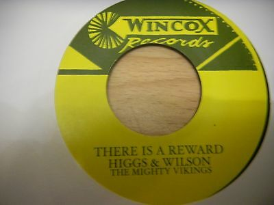 """Higgs & Wilson  Mighty Vikings  7""""  There Is A Reward Running Water"""