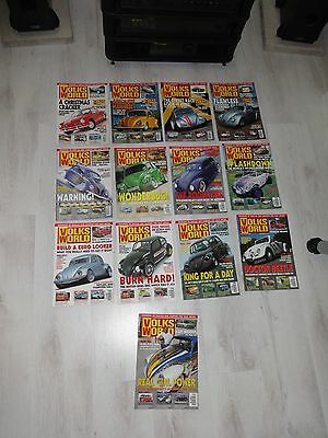 Volksworld - January 2002 to December 2002 - 13 issues - Excellent condition