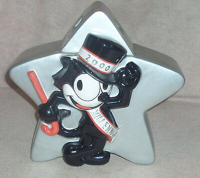 FELIX the Cat 2000 Millennium Clay Art cookie jar