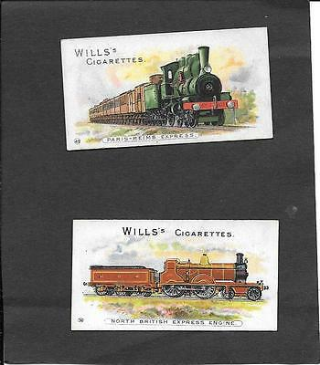 WILL'S - LOCOMOTIVES AND ROLLING STOCK (NO ITC CLAUSE)  - 1901  - nos. 36 & 49