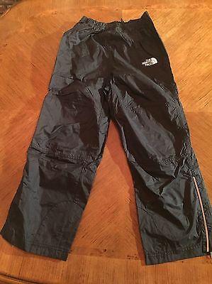 Guc North Face Waterproof Outdoor Hiking Rain Pants Youth M Black