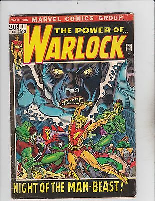 Marvel Comics! The Power of Warlock! Issue 1!