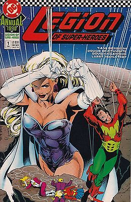 DC Comics! The Legion of Super Heroes Annual! Issue 1!