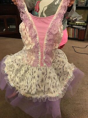Lilac Girls Dance Costume/tutu Gorgeous! Size 6/7
