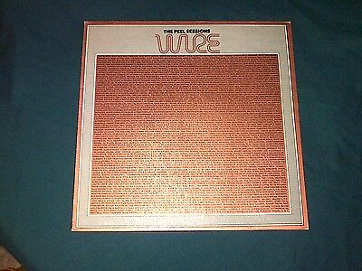 Wire - Peel Sessions 1987 Vinyl LP with Special Metallic Finish Sleeve - Rare