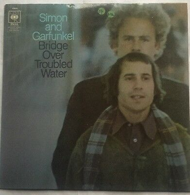 Simon & Garfunkel - Bridge Over Troubled Water - CBS Records Vinyl LP Nr EX/VG+