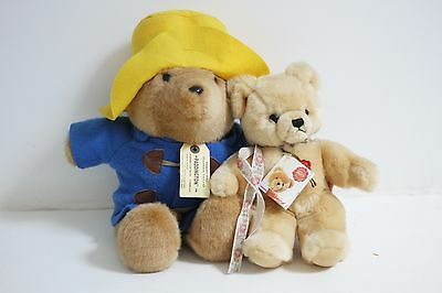 Peluche ours Paddington bear et Teddy bear