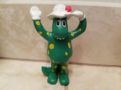 Vintage Wiggles ~Dorothy The Dinosaur~Toy Figurine