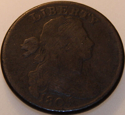 1805-P Draped Bust Large Cent [SN01]