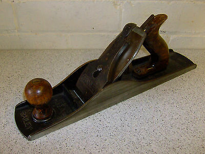 Vintage Stanley Bailey No. 5 1/2 Adjustable Jack Plane Woodworking Tool England