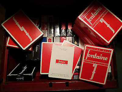 Red Fontaine Playing cards - SEALED