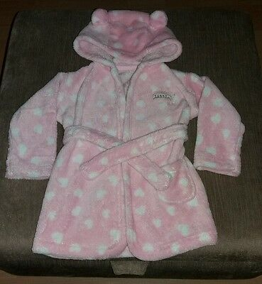 Infant Girls Size 9-12 Months Dressing Gown