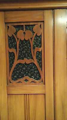 Antique furniture wardrobe  and dressing table